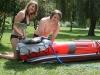 Druckluft für Schlauchboote