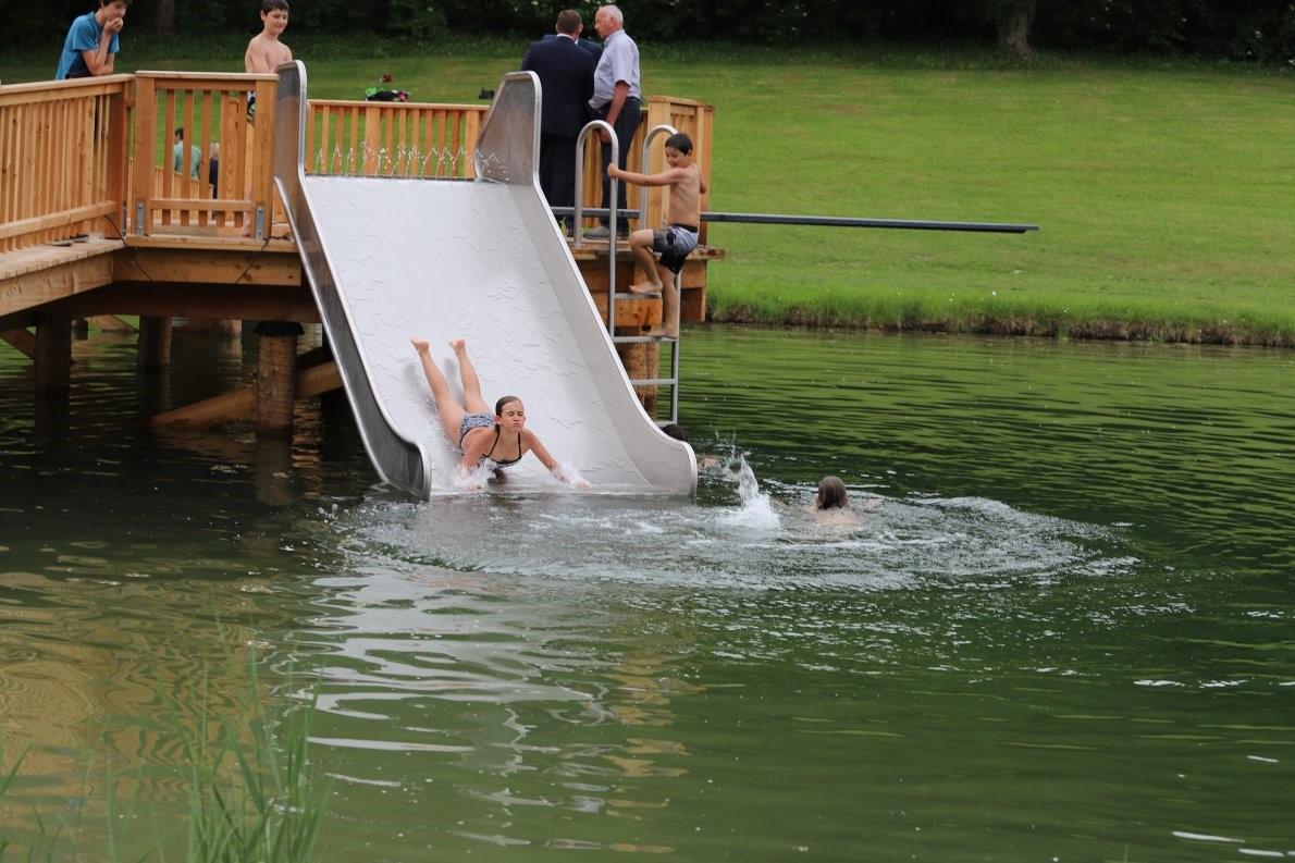 Badesee Mieming, Wassertemperatur, Foto: badesee-mieming.at