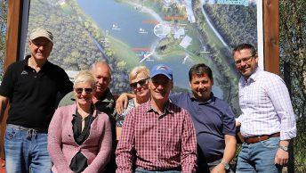 BadeseeMieming-Team - von links: Peter Neuner, Christine Schöpf, Reinhard Wild, Angi Maurer, Alois Kranebitter, Manfred Krug, Martin Kapeller. Foto: Knut Kuckel