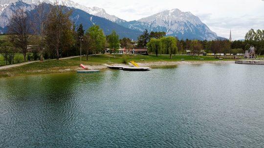 Der Start in die Badesaison 2020 wird sich heuer verzögern. Deshalb laden wir Euch in der Übergangszeit zu einem kleinen Rundflug ein. Foto: Andreas Fischer