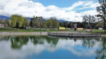Der Badesee Mieming ist bei Schönwetter täglich in der Zeit von 9:00 Uhr bis 19:00 Uhr geöffnet. (Foto: Andreas Fischer)